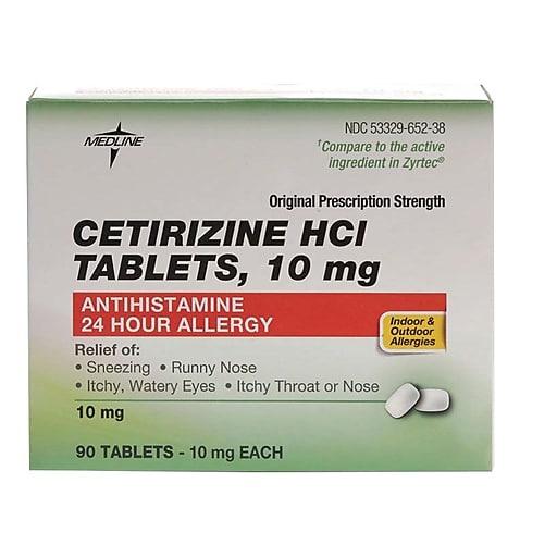 سیتریزین یکی از داروهای نسل دوم آنتی هیستامینها