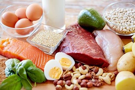 پروتئینهای سالم در رژیم غذایی