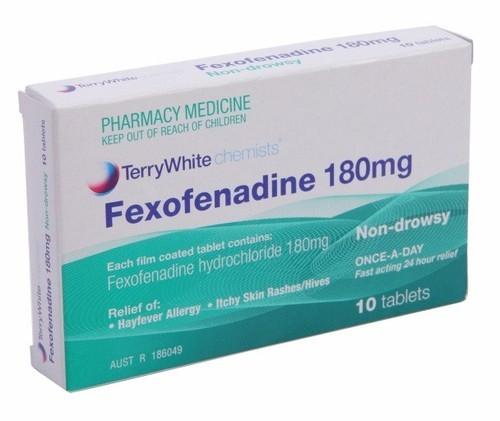 فکسوفنادین یکی از داروهای آنتی هیستامین نسل دو