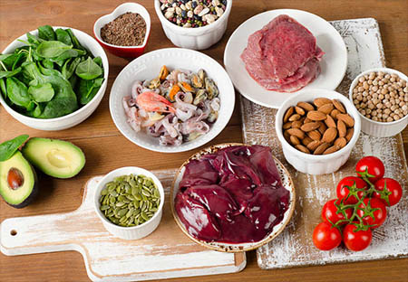 مواد جایگزین گوشت قرمز برای تامین روی در بدن