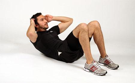 دراز و نشست یکحرکت ورزشی مضر برای دیسک کمر