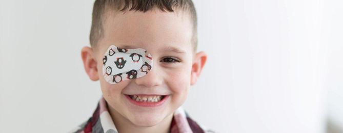 پچ چشم در درمان تنبلی پشم