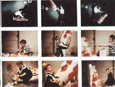 آزمایش پرخاشگری بندورا و عروسک بوبو