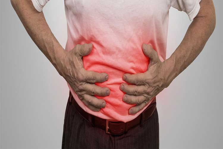 What are the differences between lactose intolerance and Crohn's disease?