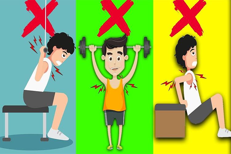 تمرینات و حرکات ورزشی خطرات برای ستون فقرات و دیسک کمر