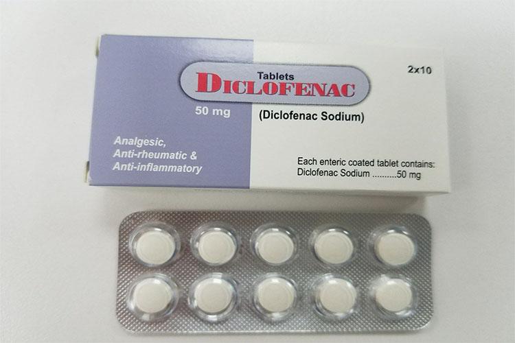 آشنایی با تأثیرات داروی تسکیندهنده درد دیکلوفناک و عوارض جانبی آن