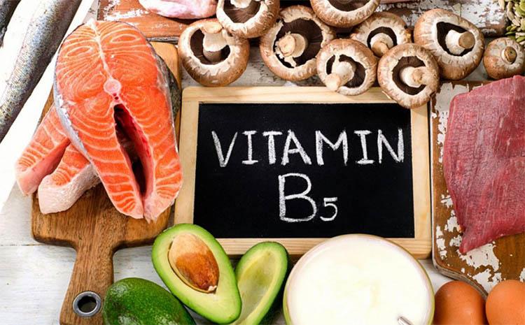 ویتامین B5 یا پانتوتنیک اسید