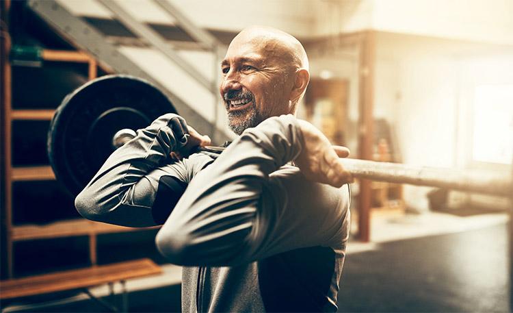 کاهش وزن در مردان بالای 40 سال