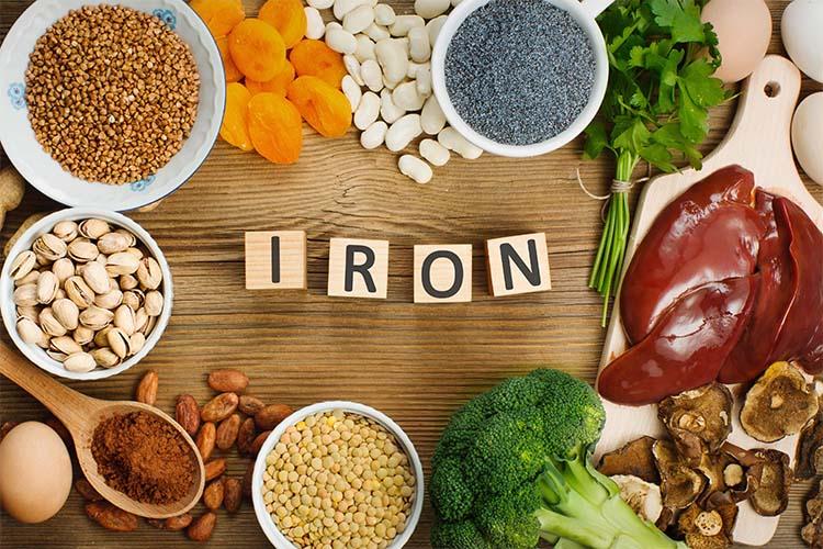 معرفی غذاهای سرشار از آهن برای کودکان