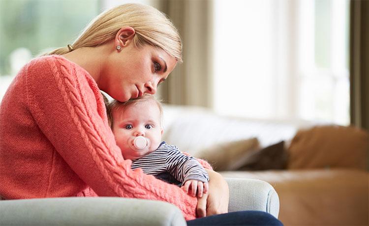افسردگی پس از زایمان و تاثیر آن بر نوزادان