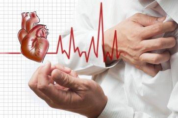 تند شدن غیرطبیعی ضربان قلب یا تاکیکاردی (tachycardia)