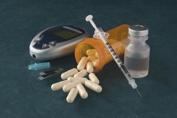 Increased amputation is affected by drugs such as diuretic diuretics in people with diabetes