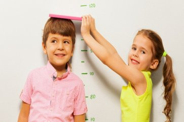 Familiarity with standard height and weight for children of different ages
