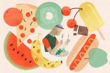 برای کنترل وزن، کنترل حجم غذا را امتحان کنید!