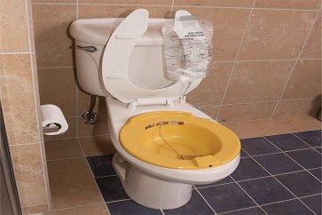 تسکین دردهای هموروئید و شقاق مقعدی با استفاده از حمام سیتز sitz bath